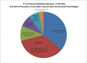 sports pie chart
