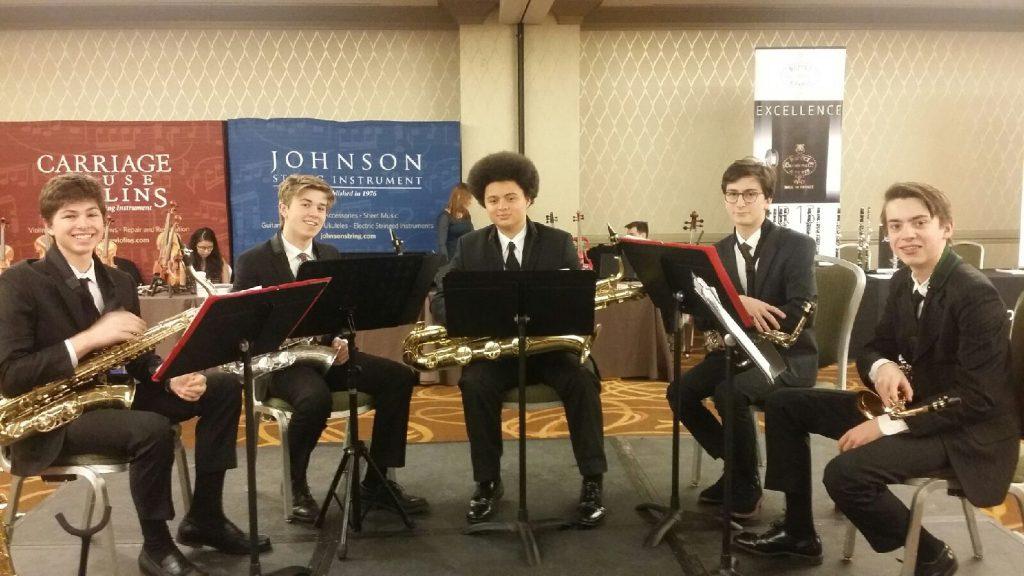 MHS All State Brass Quintet