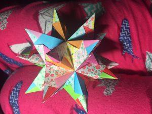 Pierce origami